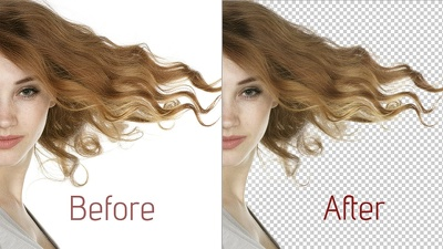 Photoshop remove background of 20 sample images