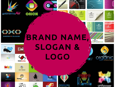 Brainstrom 7 Brand Name, 7 Slogan/Tagline and design Logo