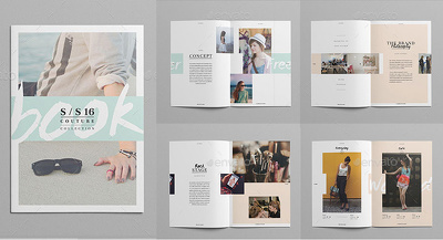 Do LookBook and photo album design.