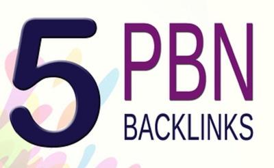 5 High PBN Backlinks Including Video To Skyrocket you SERP