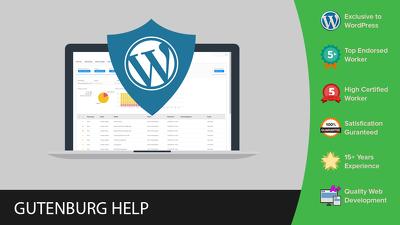 Update your website to WordPress 5 (Gutenburg Update)