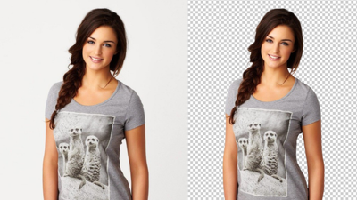 Remove 20 Images Background By Clipping Path