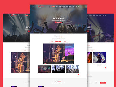 Design great web interface (PSD templates) home +5 inner page