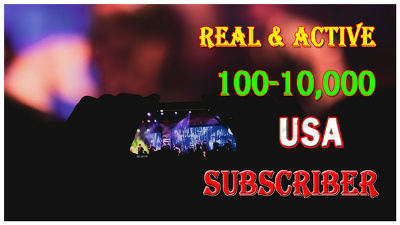 add 200+ Real and Active Subscribers to Your YouTube Channel