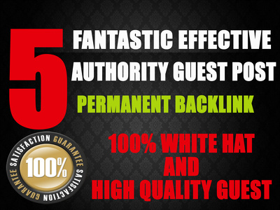 Write And Publish 5 MANUAL High DA-90, PA-80, PR-9 Guest Post