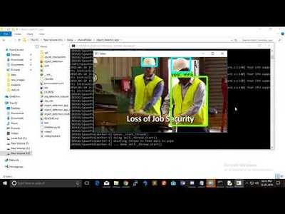 Safety Vest & Helmet Detection Convolutional Neural Network