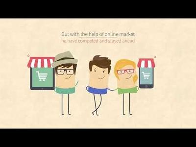 Create 1 minute 2D explainer Video