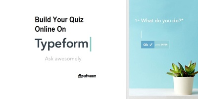 Build Your Quiz Online On Typeform