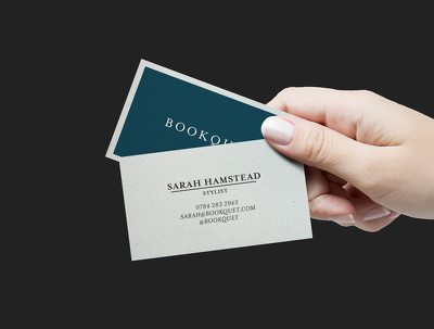Design a professional business card that looks amazing