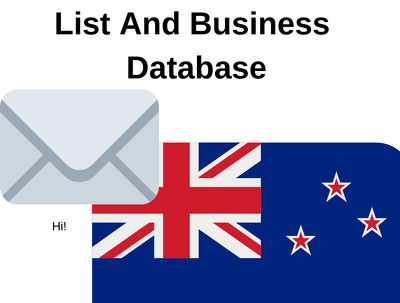 New Zealand B2b Email List And Business Database