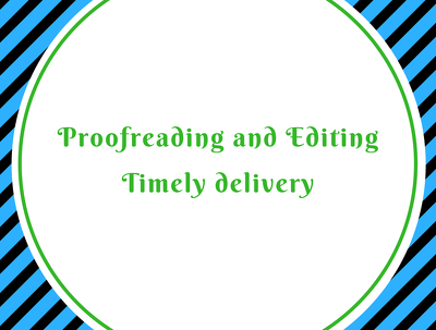 Professionally proofread and edit up to 100000 words