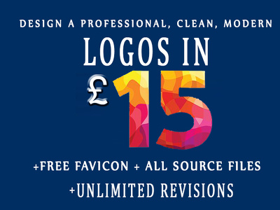 Design an Professional logo + Free favicon + logo source files