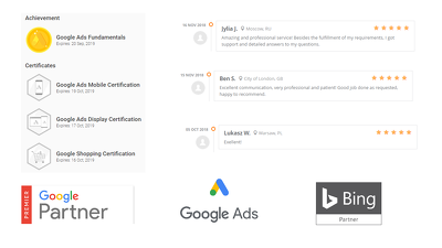 Google Ads Account Audit by Google Certified Partner