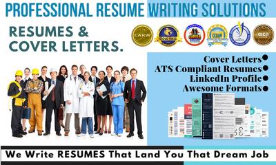 Write job winning resume ,cv for your career