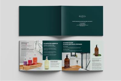 Professional bifold/trifold Brochure/Leaflet