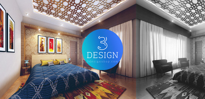 Do 3D Interior Rendering of House