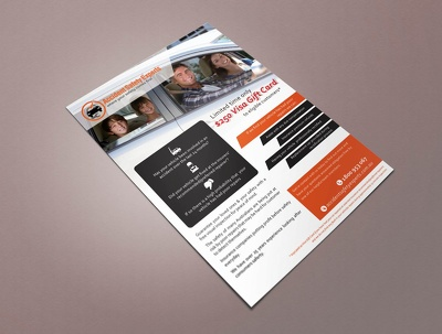 Design A Professional Double / Triple Sided Flyer For You