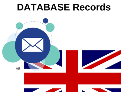 UK 1,00,000 B2b email database Records
