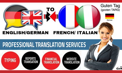 translate from english to Italian or Italian to English