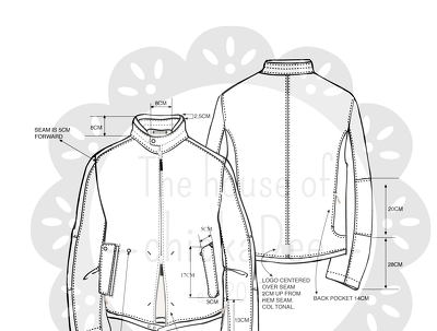 Create a technical CAD drawing from your photo or sketch