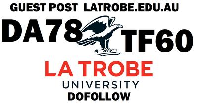 Write & post on Latrobe university latrobe.edu.au DA78 TF60
