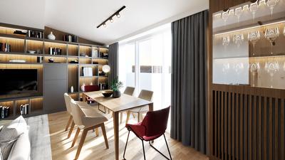 Create ONE PHOTO REALISTIC interior renderings