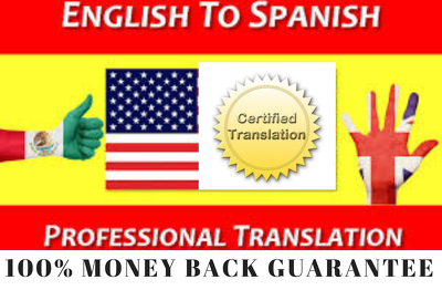 Translate 1000 words from english to Spanish or Spanish to Eng