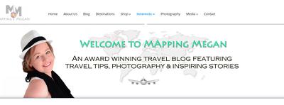 Place Unique Guest Post on MappingMegan.com - DA51, PA57