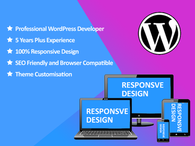 Develop a professional WordPress site for your business