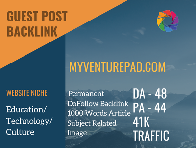 Publish a Dofollow Guest Post on Myventurepad.com