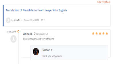 Translate 500 words from French to English and English to French
