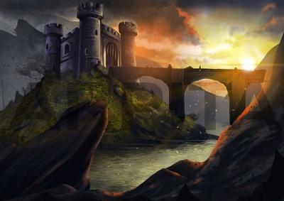 Game illustrations / concept art
