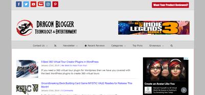 Place a guest post on DragonBlogger.com - DA42