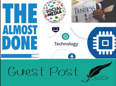 Guest Post on HQ DA37 Tech, Business, Social Media Niche Blog