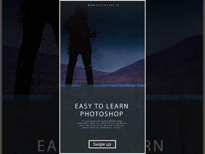 Create Modern Instagram Stories / story design for instagram