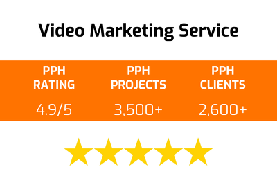 Provide a video marketing service