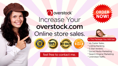 Rank your overstock listing on 1st page top position