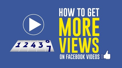 Do Professional Facebook Video Promotion