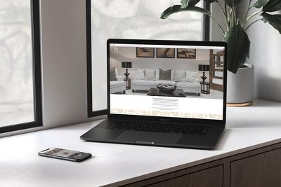design, develop & host a beautiful, bespoke WordPress Website
