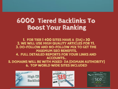 Create 10 000 Contextual Tiered Backlinks