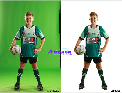 Model images background remove 20 photos