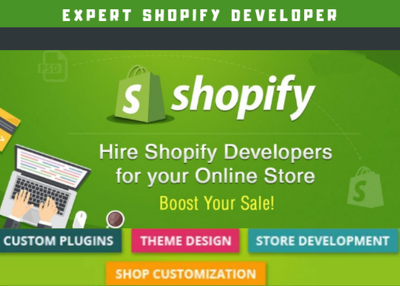 Create a Complete Drop shipping Shopify Store or Shopify Website