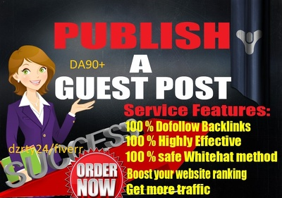 Publish DA 73 Niche Guest Blog Post