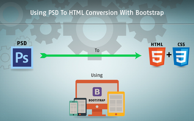 PSD to HTML with BOOTSTRAP and JS