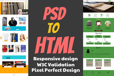 Convert Your Psd To Responsive Html