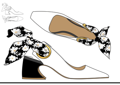 CAD (illustrate) your Footwear Design in a Side & Top view
