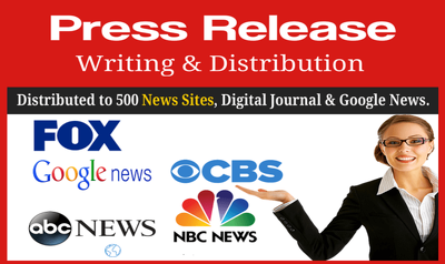 500+ Premium News Site | ABC, NBC, CBS, FOX TV | Press Release