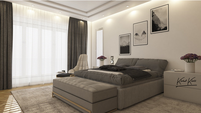 Design Your Bedroom & Give You HQ Beautiful Realistic renders