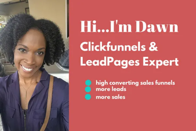 Design a sales funnel to generate leads