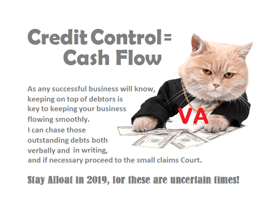 chase 6 of your debtors by email/telephone (CREDIT CONTROL)
